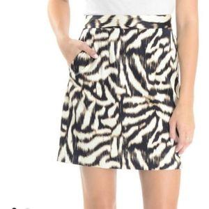 Ann Taylor Animal Print Pencil Skirt